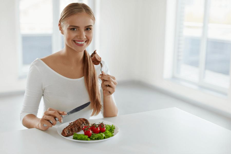 ar galiu valgyti mažiau ir numesti svorio
