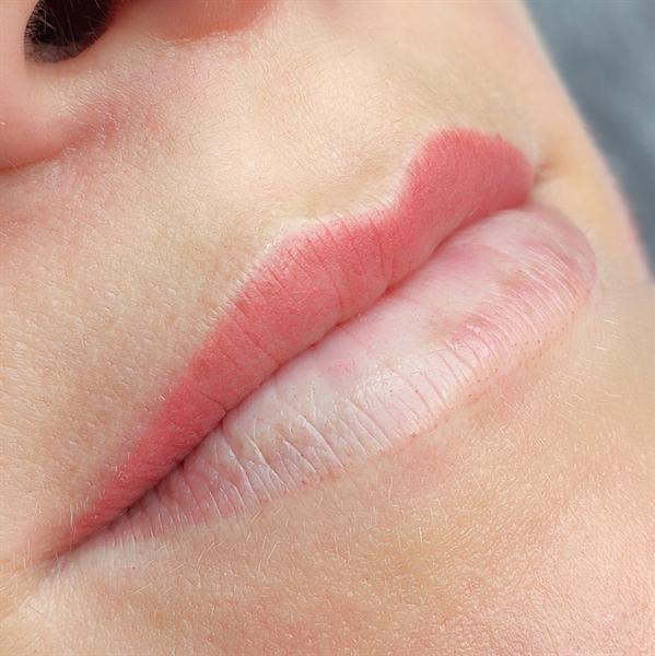 Lūpų permanentinis (ilgalaikis) makiažas. Po/Prieš
