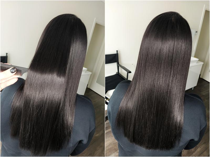Kataplazma- plaukus atstatanti procedūrą.